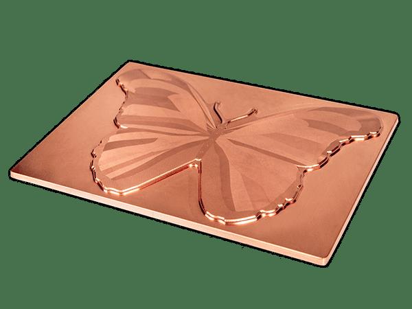 Textured Copper Dies